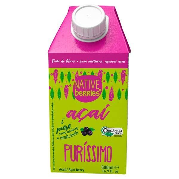 Açai Purissimo Polpa 500ml - Native Berries