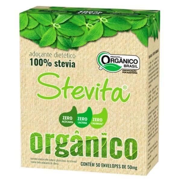 Adocante de Stevia Organico Sache 50x0,05g Stevita