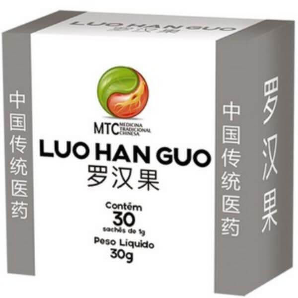 Adoçante Monk Fruit (luo Han Guo) 30 Sachês De 1000mg - Vitafor MTC