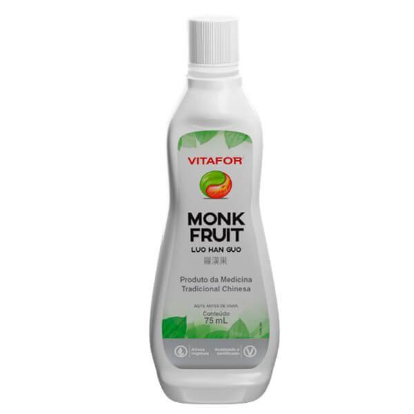 Adoçante Monk Fruit (luo Han Guo) Gotas 75ml - Vitafor MTC