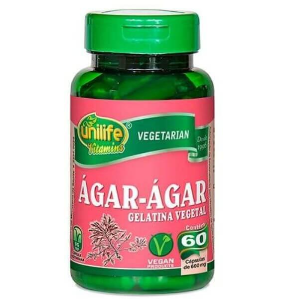 Ágar-ágar Vegetarian 60 Cáps - Unilife