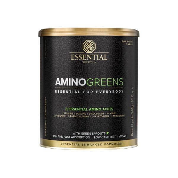 Amino Greens 240gr - Essential Nutrition