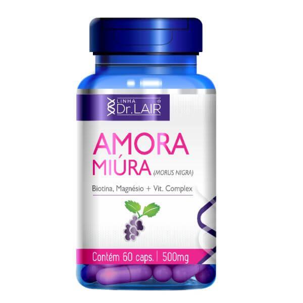 Amora Miura 60 Cápsulas De 500mg - Upnutri