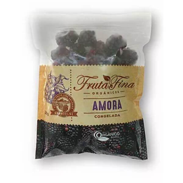 Amora Organica Congelada 1Kg - Fina Fruta
