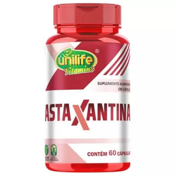 Astaxantina 400mg 60 Cápsulas - Unilife