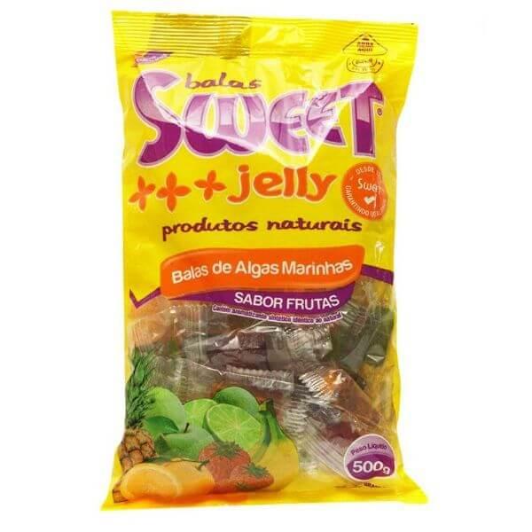 Balas De Algas Marinhas Sabor Frutas 500gr - Sweet Jelly