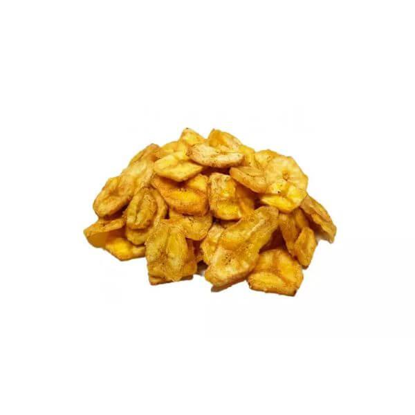 Banana Chips Com Açúcar
