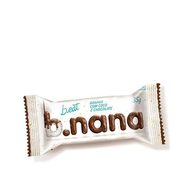 Banana Passa Com Coco E Chocolate Sem Açúcar 35gr - B.Nana
