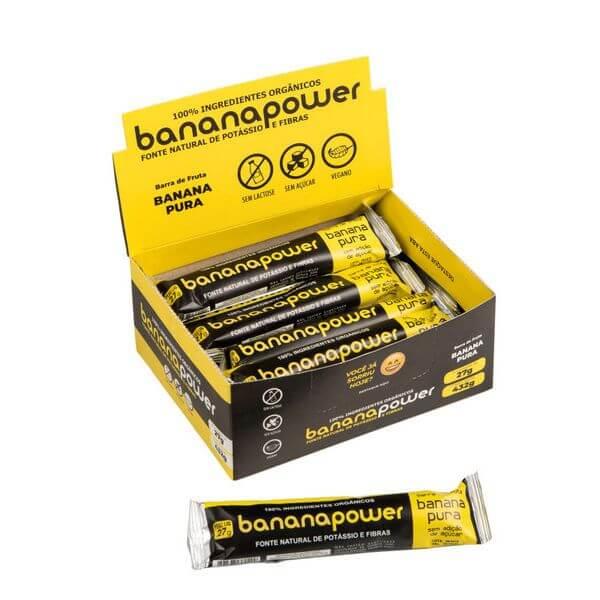 Banana Power Organica Pura Display 16x27g
