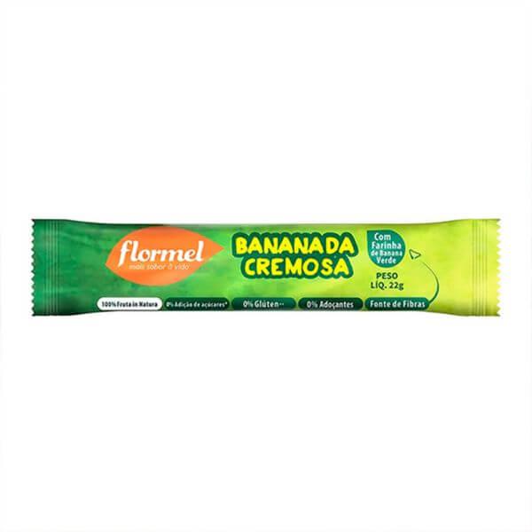 Bananada Cremosa Zero Açúcar 22gr - Flormel