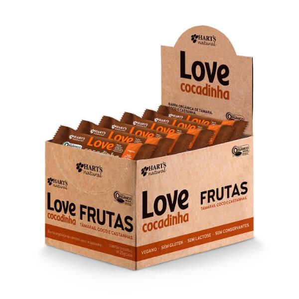 Barra De Frutas Love Cocadinha Caixa Com 24Un De 35gr - Harts Natural