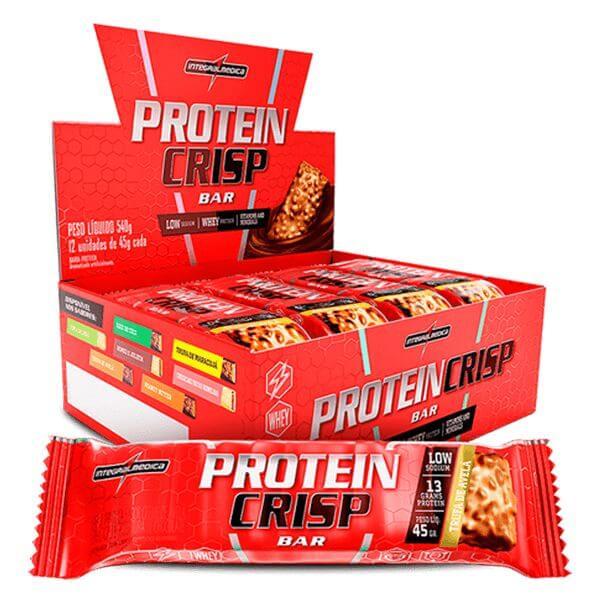 Barra de Proteina Crisp sabor Trufa de Avela Display 12x45g Integralmedica