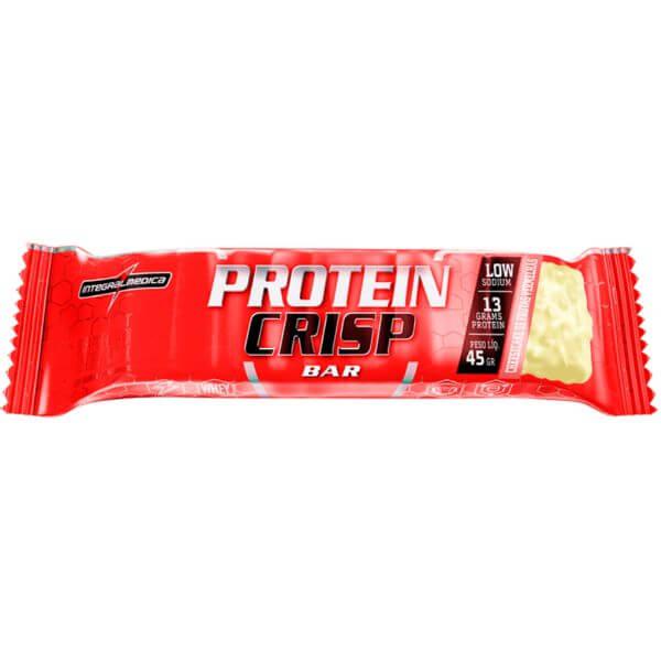 Barra De Proteína Protein Crisp Cheesecake De Frutas Vermelhas  45gr - Integral Médica