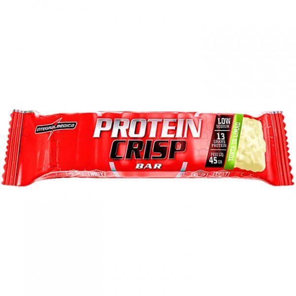 Barra De Proteína Protein Crisp Torta De Limão 45gr - Integral Médica