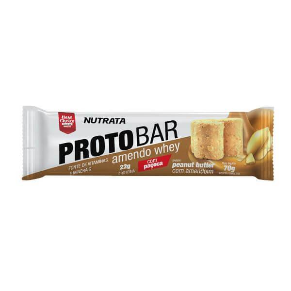 Barra de Proteina Protobar Amendo Whey 70gr - Nutrata