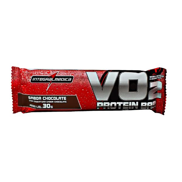 Barra De Proteína Vo2 Chocolate 30gr - Integral Médica