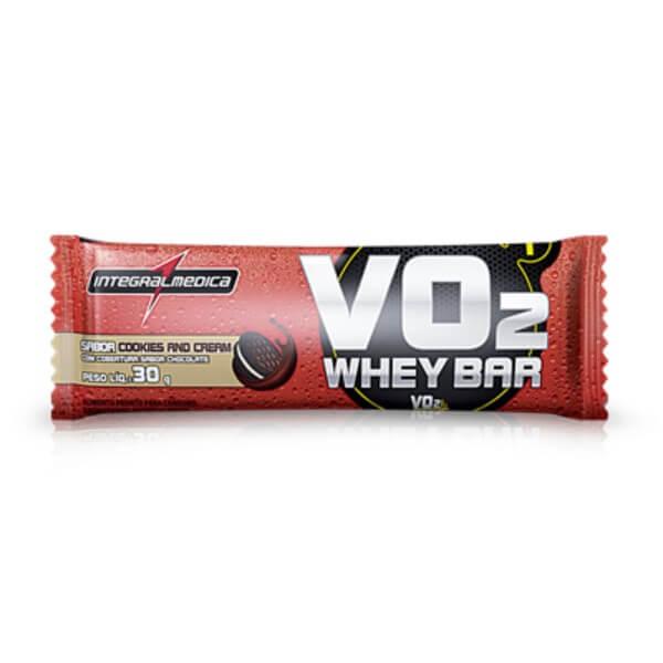 Barra De Proteína Vo2 Cookies 30gr - Integral Medica