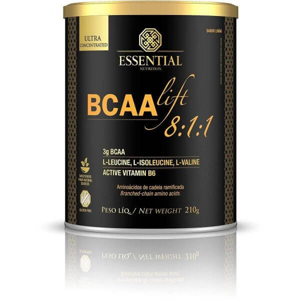 Bcaa Lift 8:1:1 - Limão 210gr - Essential Nutrition