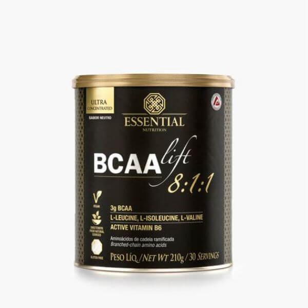 Bcaa Lift 8:1:1 Neutro 210gr - Essential Nutrition