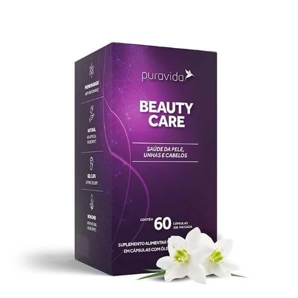 Beauty Care 60 Capsulas De 500mg - Pura Vida