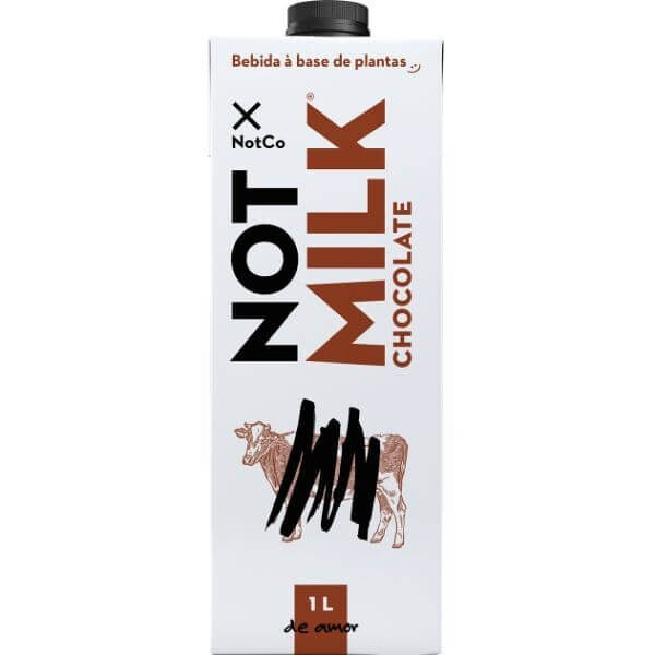 Bebida Vegetal Chocolate NotMilk 1L - NOTCO