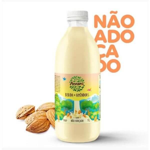 Bebida Vegetal De Amêndoas Não Adoçado 1L - Annora