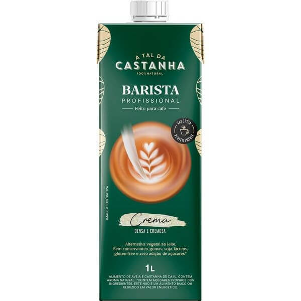 Bebida Vegetal De Castanha Barista 1L - A Tal Da Castanha