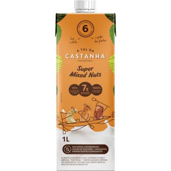 Bebida Vegetal De Castanhas Mixed Nuts 1L - A Tal Da Castanha