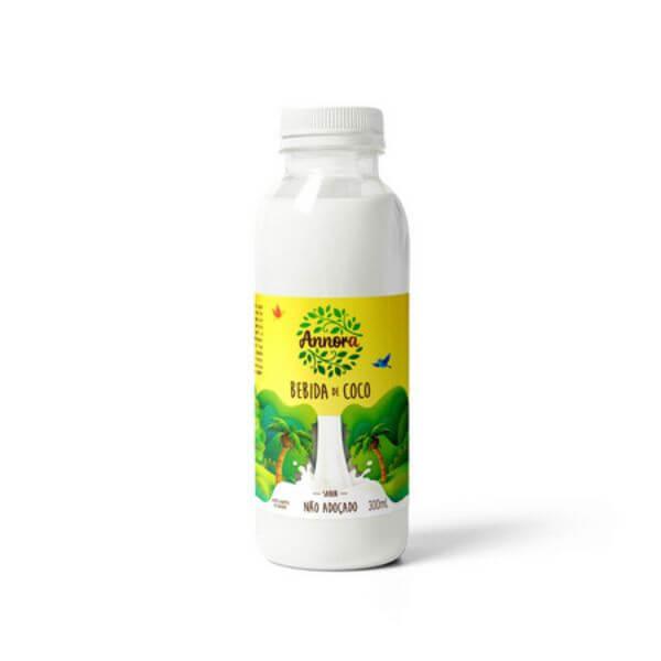 Bebida Vegetal De Coco Não Adoçada 300ml - Annora