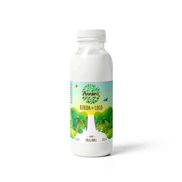 Bebida Vegetal De Coco Original 300ml - Annora