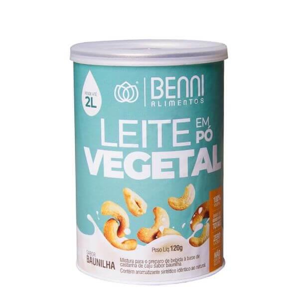Bebida Vegetal Em Pó Com Baunilha120gr- Benni