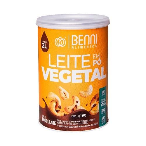 Bebida Vegetal Em Pó Com Cacau 120gr - Benni