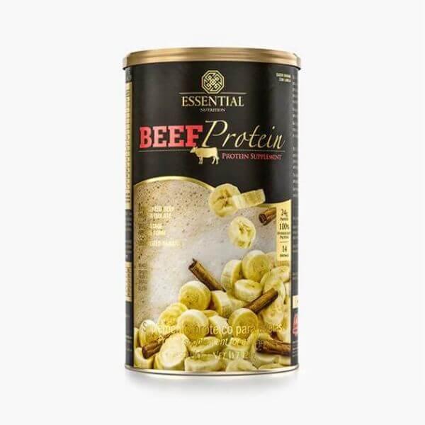 Beef Protein Banana Com Canela 420gr - Essential Nutrition