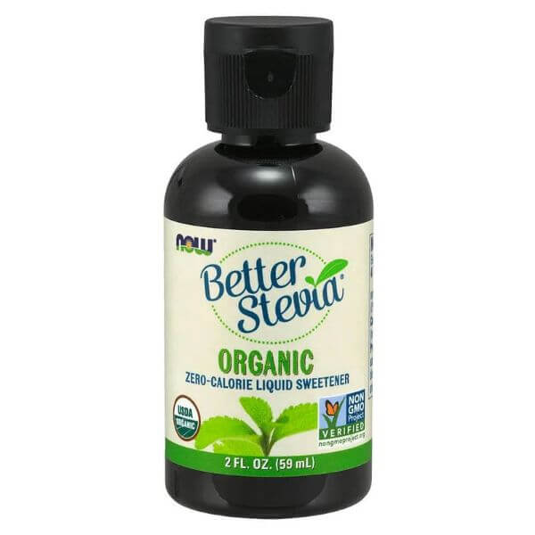 Better Stevia Premium Líquido 59ml - Now
