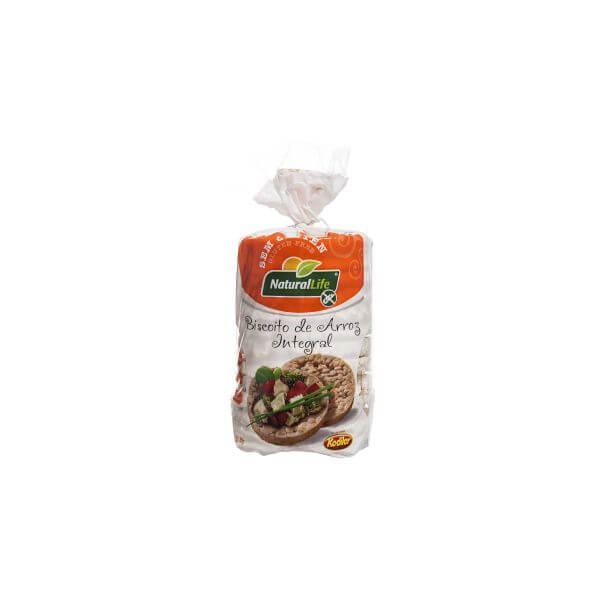 Biscoito de Arroz Grande s/ Gluten 80g Natural Life