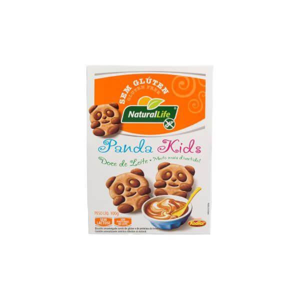 Biscoito Panda Kids Doce De Leite Sem Glúten 100gr - Natural Life