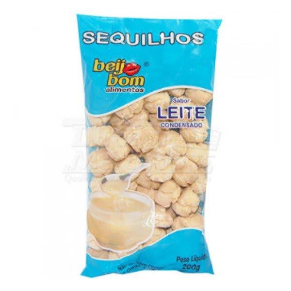 Biscoito Sequilhos Sabor Leite Condensado 200gr - Beijo Bom
