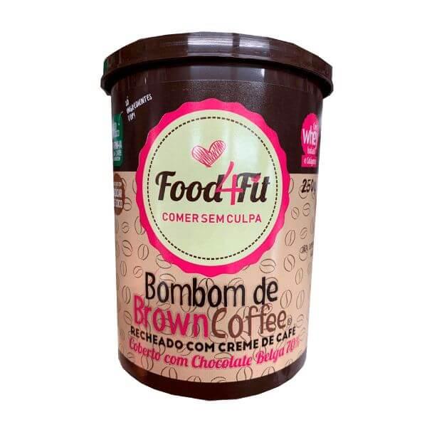 Bombom de Browncoffe 250g - Food4Fit