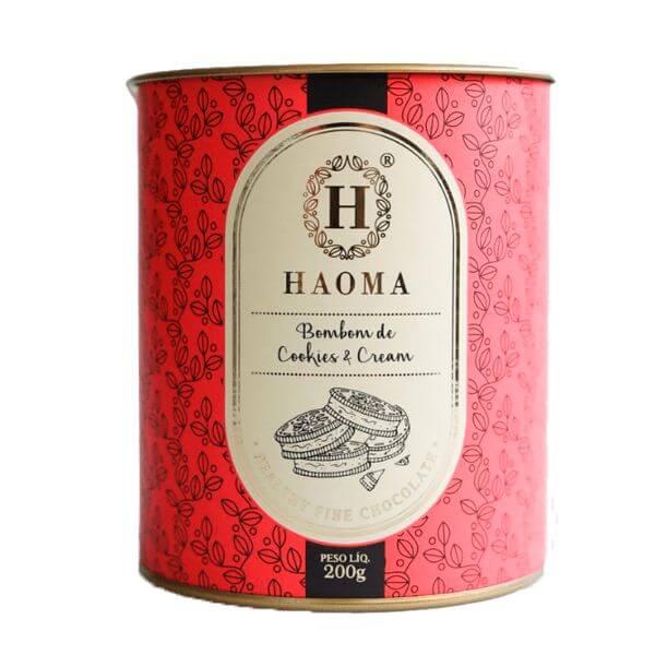 Bombom Haoma Cookies And Cream 200gr - Haoma