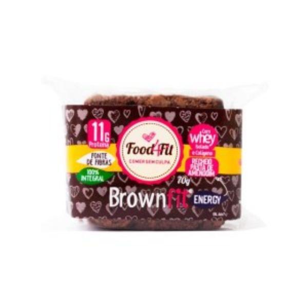 Brownie Com Pasta de Amendoim Fit Energy 70gr Food4Fit