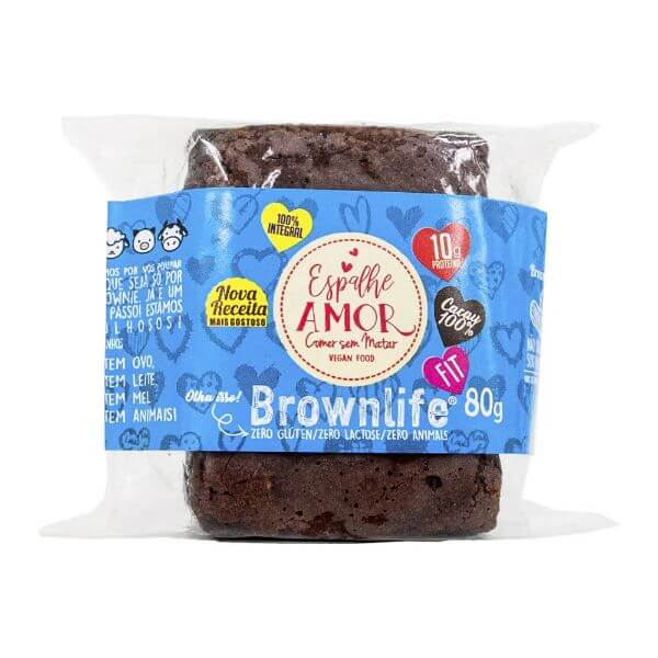Brownlife Espalhe Amor 80g - Food4Fit