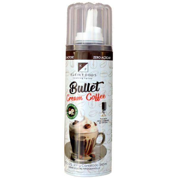 Bullet Cream Coffe em Spray 240ml - Klein Foods