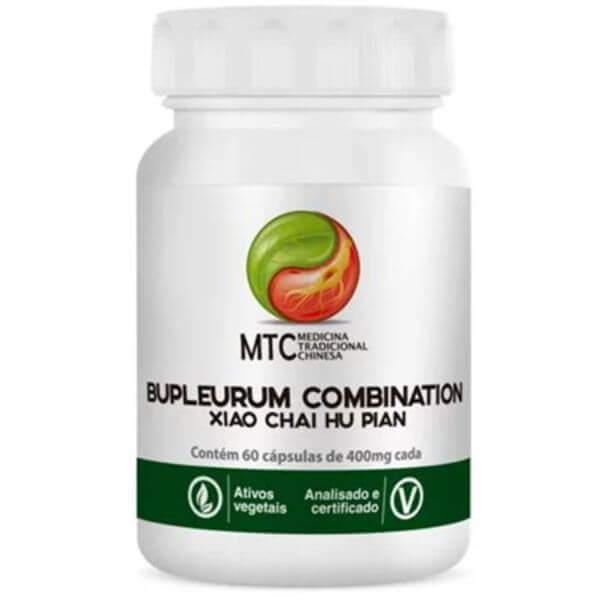 Bupleurum Combination (xiao Chai Hu Pian) 60 Caps - Vitafor