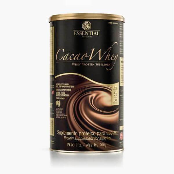 Cacao Whey Lata 900gr - Essential Nutrition