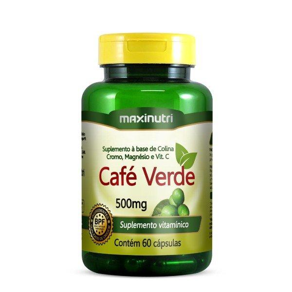 Café Verde 60Cápsulas De 500mg  - Maxinutri