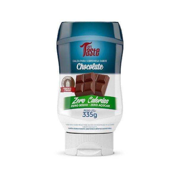 Calda De Chocolate Zero Açúcar 335gr - Mrs Taste