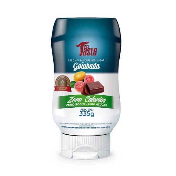 Calda De Goiabada Zero Açúcar 335gr - Mrs Taste