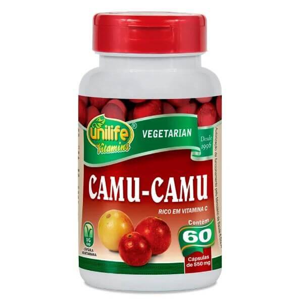 Camu-Camu 60 Capsulas de 500mg - Unilife