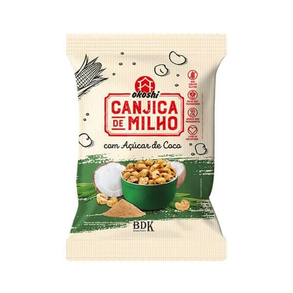 Canjicas De Milho Açúcar De Coco 36gr - Okoshi
