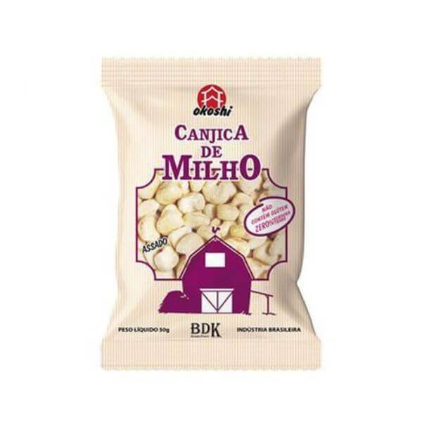 Canjicas De Milho com Açúcar Orgânico 50gr - Okoshi